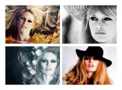 Set of 4 Placemats Brigitte Bardot