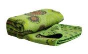 Green Grassland Totem Style Printing Absorbent Yoga Mat Non-slip Yoga Shop Towel