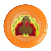 Sanding Flying Disc Frisbee Gugize Child's Thanksgiving Words