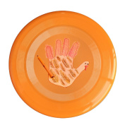 Sanding Flying Disc Frisbee Gugize Pencil Drawing Thanksgiving Palm Turkey