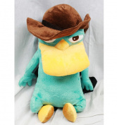 Plush Backpack - Phineas And Ferb - Agent P New Soft Doll Toys dc8678