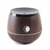 Mystic Moments | Wooden | Aromatherapy Oil Ultrasonic Diffuser With Bluetooth Speaker & LED Lights