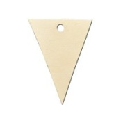 100 Pcs of Triangle Gift Tag 2-7/8¡± x 2¡±