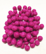 Yarn Place Felt Wool Felted 100 Balls 15mm 1 Colour Pack