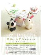 Hamanaka Small friends Panda sheep Rabbit H441- 481 needle felting kits