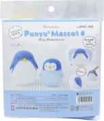 Hamanaka Punyu 2 mascot Penguin H441- 448 needle felting kits