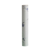 Thicken Scroll Holder Seal Collection Drawing Art Calligraphy and Painting Box 42cm, Blue Bird