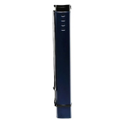 Square Design Poster Tube Collecting Tube Poster Carrying Case Mailing Tube- Dark Blue