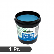 Ecotex TEX-BLUE HV - High Viscosity Textile Screen Printing Emulsion
