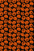 Halloween Pumpkin Trick or Treat pattern Heat Transfer Vinyl Sheet for Silhouette 30cm x 46cm HTV for Clothing - . Transfer Mask Included Premium Heat transfer Vinyl