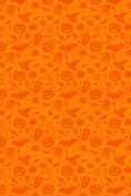 Halloween Party Trick or Treat pattern Heat Transfer Vinyl Sheet for Silhouette 30cm x 46cm HTV for Clothing - . Transfer Mask Included Premium Heat transfer Vinyl