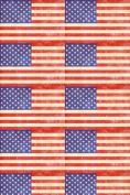 American Flag Vintage Heat Transfer Vinyl Sheet for Silhouette HTV for Clothing - . Transfer Mask Included Premium Heat transfer Vinyl