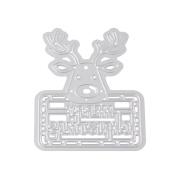 Hot Sales!! ZOMUSA Christmas Merry Christmas Metal Cutting Dies Stencils Scrapbooking Embossing DIY Crafts
