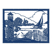 Tattered Lace Nautical Tapestry Die TLD0623