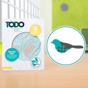 TODO Metal Paper Card Craft Cutting Die Template Set - Woven Bird