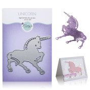 Unicorn Cutting Die – Create Die Cut Unicorn with Metal Cutting Die for DIY Greeting Card Making, Scrapbooking, Paper Crafting Supplies – Animal Shaped Dies by Matty's Crafting Joy