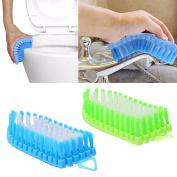 Flexible Bathroom Cleaning Tool Plastic Toilet Brush Scruber