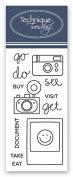Planner - Camera Stamp Set