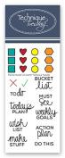 Planner - Bucket List Stamp Set
