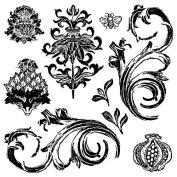 Iron Orchid Designs Decor Clear Stamps 30cm x 30cm -Renaissance