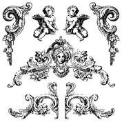 Iron Orchid Designs Decor Clear Stamps 30cm x 30cm -Trompel'oeil 2
