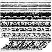 Iron Orchid Designs Decor Clear Stamps 30cm x 30cm -Trompel'oeil 1