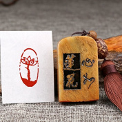 YZ116 Hmay Chinese Mood Seal / Handmade Traditional Art Stamp Chop for Brush Calligraphy and Sumie Painting and Gongbi Fine Artworks / - Xin Ru Lian Hua