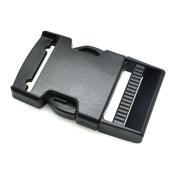 """5pcs 1-1/2""""(40mm) Webbing Plastic Side Release Buckle for Backpack Straps Black"""