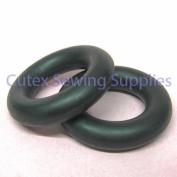 Singer 29-4 29K Sewing Machine Bobbin Winder Rubber Tyre Ring #2460 - Pack of 2