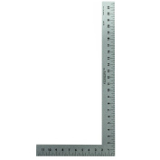 Fairgate 30cm X 15cm Half-Size L-Square Ruler #50-147 - Made in USA