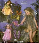 Andrea Schewe designer fairy costumes - Simplicity sewing pattern 5523 - Child size 3-8