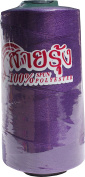RaanPahMuang SaaiRung Factory Sewing Thread Polyester 1 spool 4000 metre, Purple