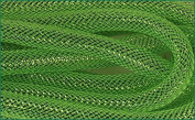 Deco Mesh Flex Tubing with Metallic Foil (Lime Green) 16mm x 30 Yards : RE300553