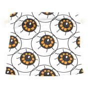 U LIFE Vintage Happy Halloween Eyes Eyeballs Gift Present Wrap Bag Eco-friendly Drawstring Bags