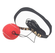 Fight Ball Reflex With Head Band For Reflexing Speed Training,Punch Exercise For Boxing By Lavany