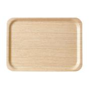 Saito Wood tray rectangle 1005H white oak 38*27