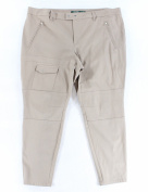 Lauren Ralph Lauren NEW Beige Women's Size 22W Plus Seamed Pants