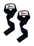 Weight Lifting Gym Straps With Double Stitched 100% Webbing Cotton Heavy Duty Wrist Straps For Weight Training Bodybuilding