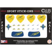 Colour Club Sport Stick-Ons, Toledo, 20 pc