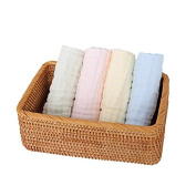 Binztec Baby Washcloths and Towels 100% Cotton Muslin 15.18cm 15.7inches Soft Healthy Multifunctional