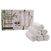 Baby Panda Naturally Organic Bamboo Baby Washcloth