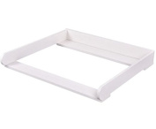 K & A Company 80cm Changing Table Top Dresser Infant Baby Nursery Nappy Station Kit Us New in White