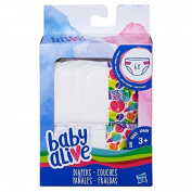 Baby Alive Like a Real Mommy or Daddy Fresh Nappies Refillpk - Stock Up for Nappy Changing Fun