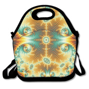 Tydo Lunch Bags Abstract Art Tote Bags Picnic Bags Snack Bags For Teen Adult Kids Children