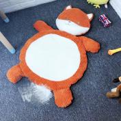 Lzttyee Cartoon Plush Stuffed Animals Kids Playing Mats Floor Cushion Game Rugs Crawling Mat Toy for Sleeping Afternoon Nap