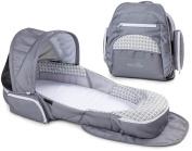 Baby Delight Snuggle Nest Traveller XL - Geo Hex - Grey/White