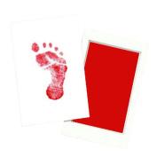HEART SPEAKER Newborn Baby Safe Reusable Handprint Footprint Inkpads Toddlers Shower Gift