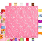 Taggies Colours Baby Security Blanket