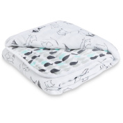 aden by aden + anais dream blanket, trotting fox - foxy