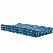 Camp River Rock Navy Blue Arrow Changing Pad Cover by Glenna Jean